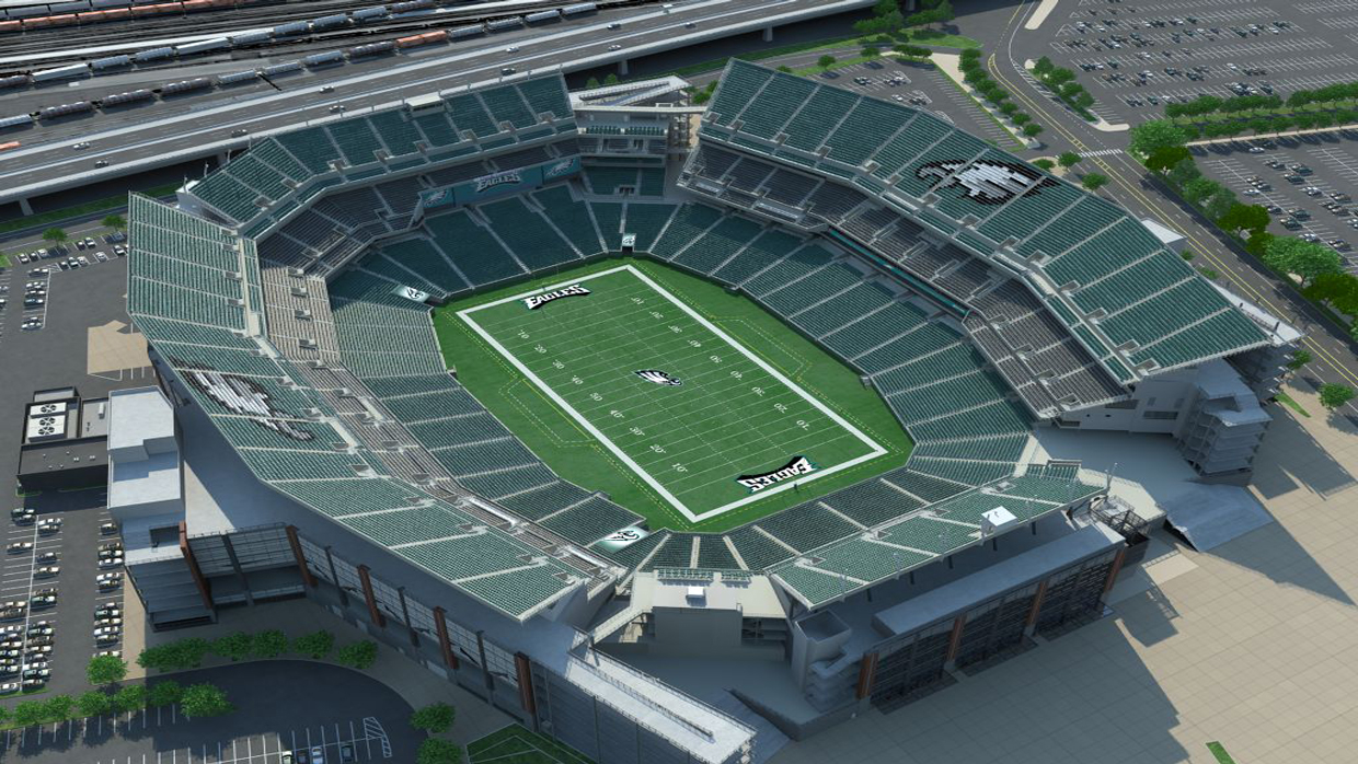 Philadelphia eagles virtual venue by iomedia